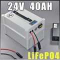 24V 40Ah LiFePO4 Portable battery 1000W Electric Bicycle Battery + BMS Charger 24v lithium scooter electric bike battery pack