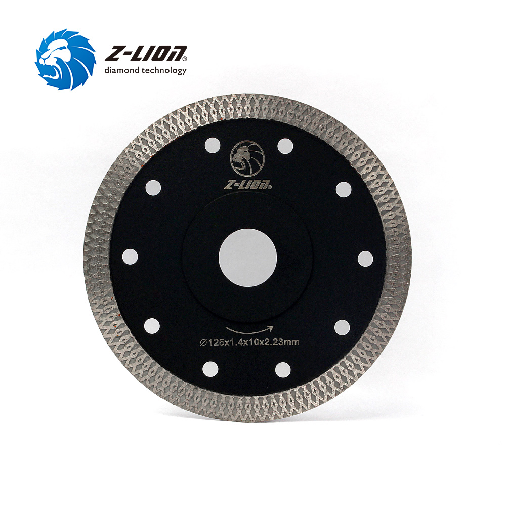 Z-LION 5 125mm Diamond Cutting Disc Ceramic Tile Porcelain Marble Circular Saw Blade For Angle Grinder Super Thin Cutting Disc berrylion diamond saw blade circular saw 114mm cutting disc wet diamond disc for marble concrete stone cutting tools