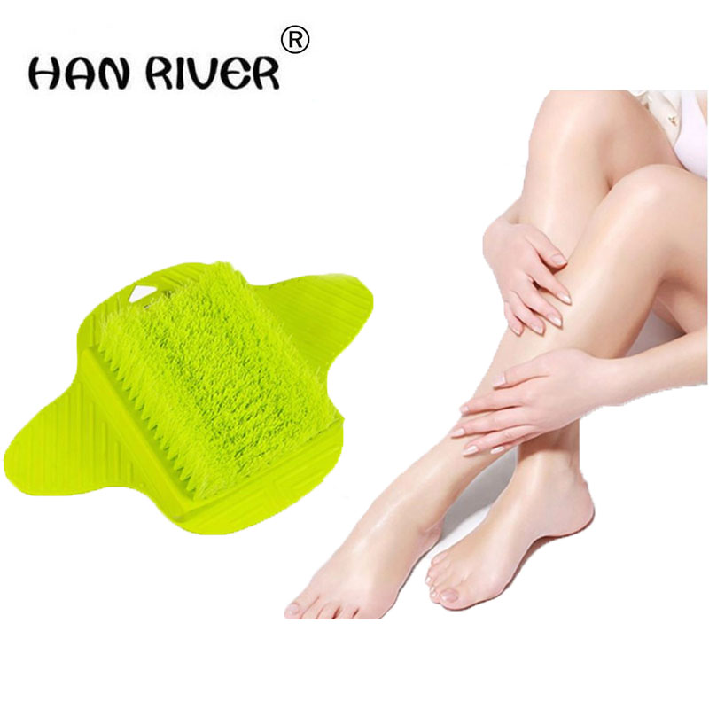 HANRIVER Foot massage hanging brush machine massage foot cleaning brush strip hard soft brush to brush the bathroom to wash feet electric antistress therapy rollers shiatsu kneading foot legs arms massager vibrator foot massage machine foot care device hot