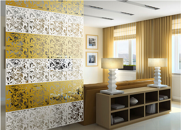 Plastic room divider Fashion Hanging Screen partition bedroom wall