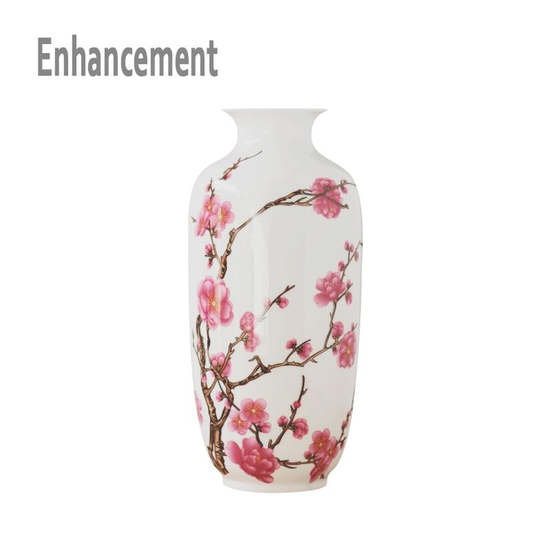 New Chinese Style Vase Jingdezhen Classical Porcelain Kaolin
