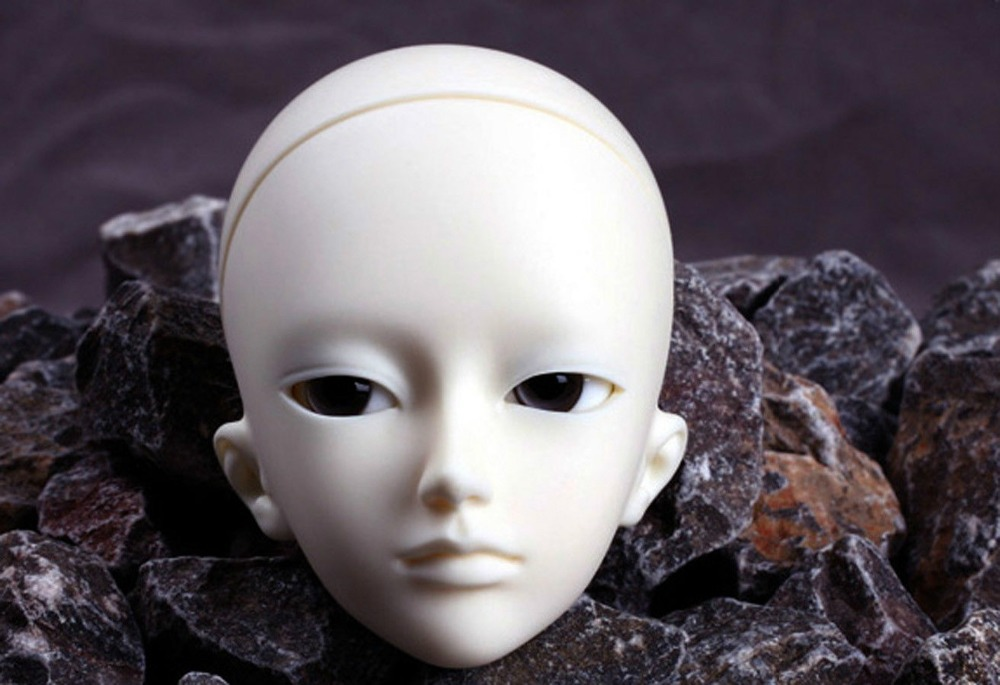 [wamami] AOD 1/4 BJD Dollfie Boy Doll Parts Single Head (Not Include Make-up)~Chen 1 3rd 65cm bjd nude doll bazael bjd sd doll boy include face up not include clothes wig shoes and other access