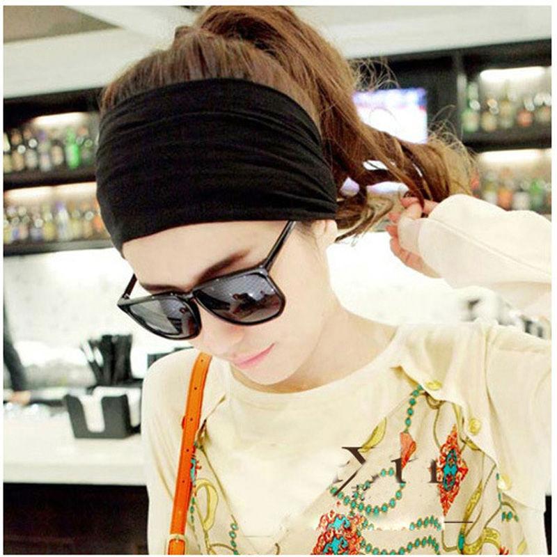 Korean kapas besar pita rambut, Wanita dan anak perempuan rekreasi - Aksesori pakaian - Foto 4