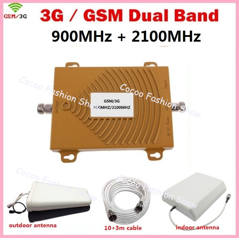 HOT SALE GSM 3G Cellular <font><b>Signal</b></font> Repeater GSM 900 3G UMTS 2100 Dual Band <font><b>Cell</b></font> <font><b>phone</b></font> <font><b>Amplifier</b></font> Repetidor Mobile <font><b>Phone</b></font> Boosters