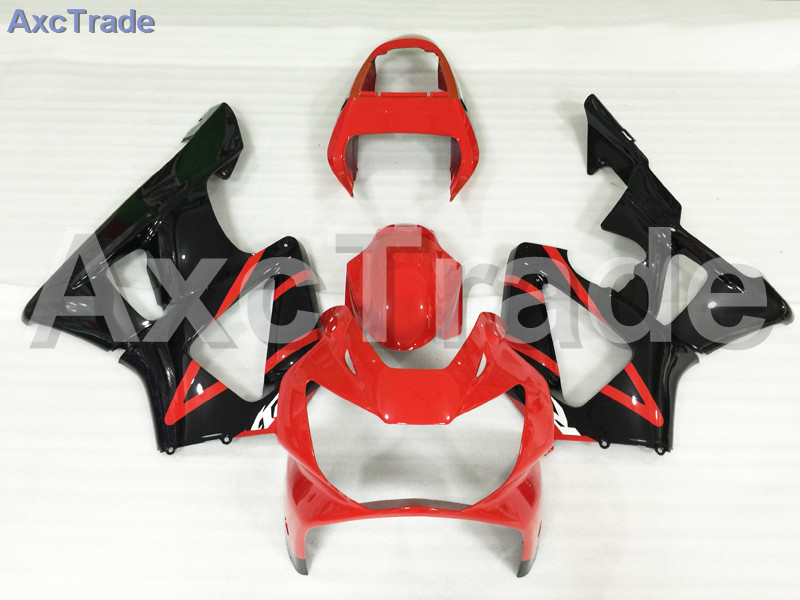 Motorcycle Fairings For Honda CBR 929 900 RR 929RR 00 01 900 2000 2001 CBR900RR ABS Plastic Fairing Kit Bodywork Red Black A637