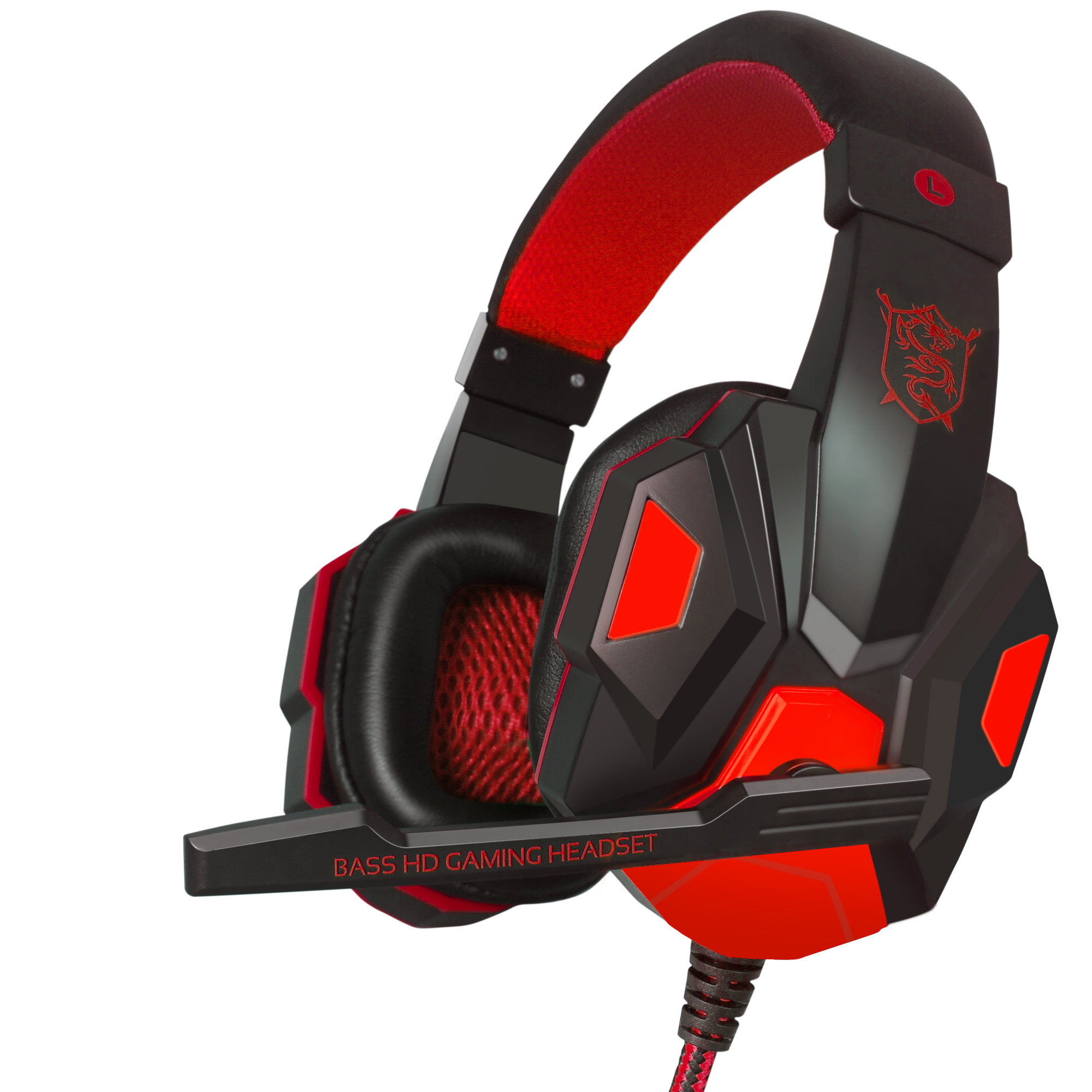 Professional PLEXTONE PC780 Stereo Gaming Headphones Headsets Big Glowing Over-Ear Gamer Headset Earphone with Microphone