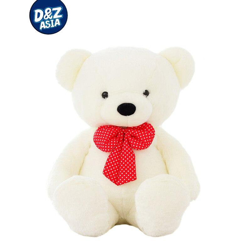 Ours en peluche gros ours poupée ours blanc jouets en peluche cadeau d'anniversaire taille réelle peluche ours en peluche