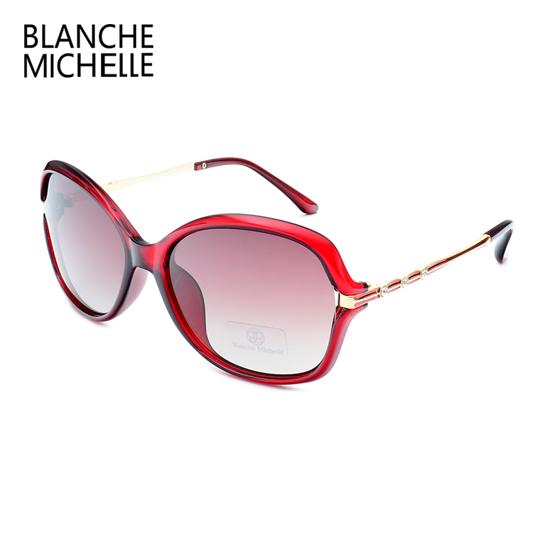 2018 New Fashion High Quality Sunglasses Women Polarized UV400 Sunglass Gradient Lens Butterfly Sun Glasses For Woman With Box 5