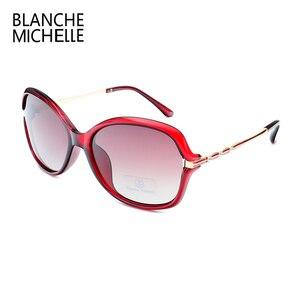 Image 5 - Yeni moda güneş gözlükleri kadınlar polarize UV400 degrade Lens güneş gözlüğü kadın Vintage Sunglass 2020 ile güneş gözlüğü