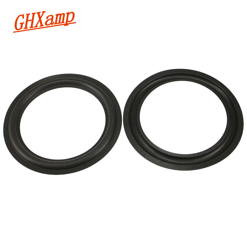 GHXAMP 6.5 Inch 155mm 140mm 120mm 110mm Speaker Suspension P14 Foam Edge Woofer Speaker Repairs 1Pairs