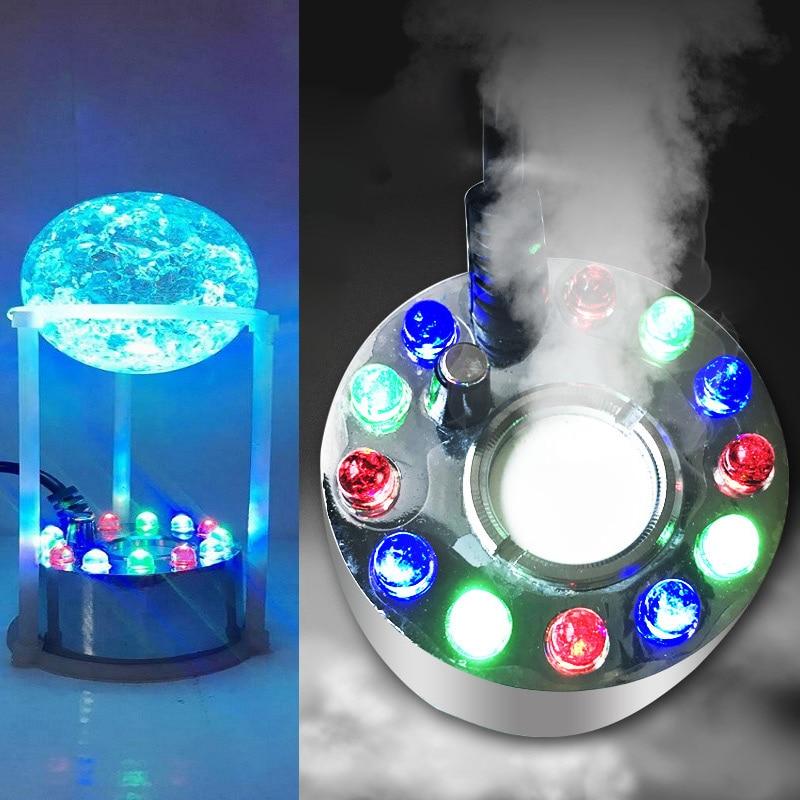 Led Underwater Lights 2019 Latest Design 12 Leds Ultrasonic Mist Maker Fogger Water Fountain Pond Fog Machine Atomizer Air Humidifier Eu/us/uk Plug Lb88