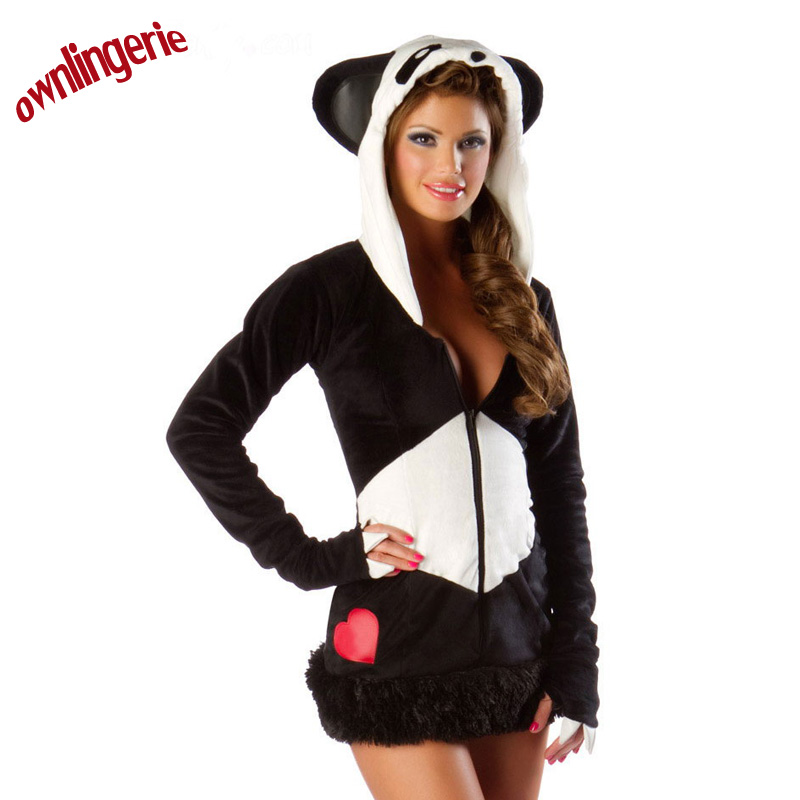 2017 Hot adult woman halloween costumes animal cosplay women Panda Costume  Panda costumes for adults on Aliexpress.com | Alibaba Group  sc 1 st  AliExpress.com & 2017 Hot adult woman halloween costumes animal cosplay women Panda ...