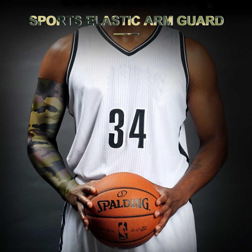1 pc de alta qualidade secagem rápida proteção uv correndo mangas braço basquete cotovelo almofada fitness armguards esportes ciclismo aquecedores braço