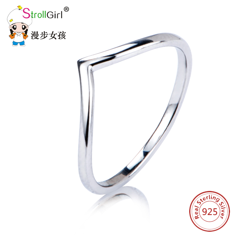 2018 New Arrival Hot rings for women 925 Sterling silver for Geometric triangle ring triangle jewelry ring for women gifts
