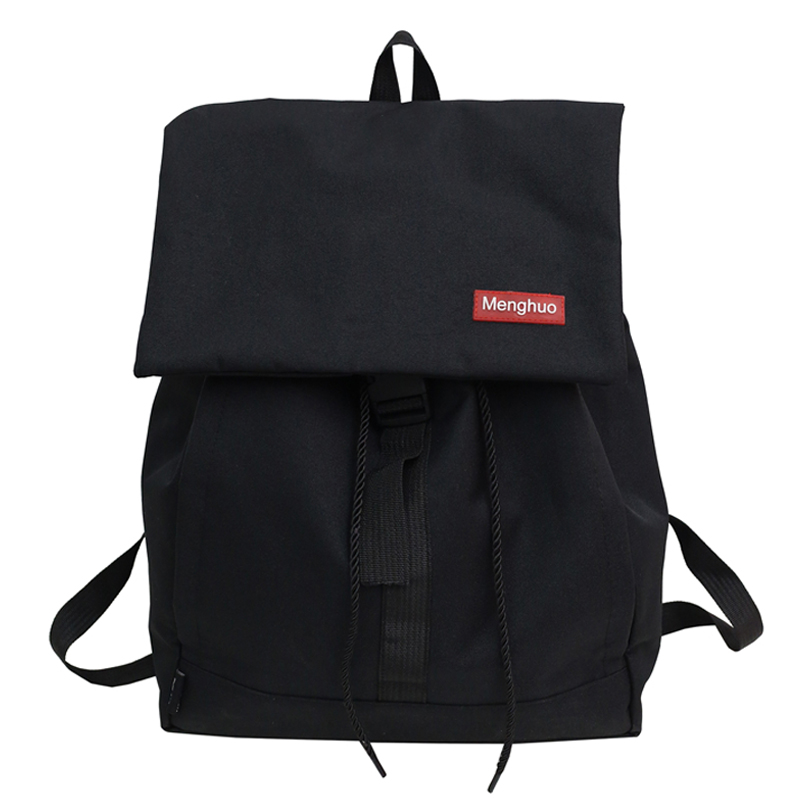 Fashion Women Backpack High Quality Youth Backpacks for Teenage Girls Female School Shoulder Bags Men Male Bagpack Mochila Black
