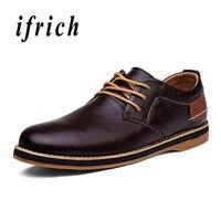 Classic Business Dress Men Shoes Brown Blue Wedding Male Dress Shoes Leather Pointed Toe Men Shoes Comfortable Derbi Shoes Men