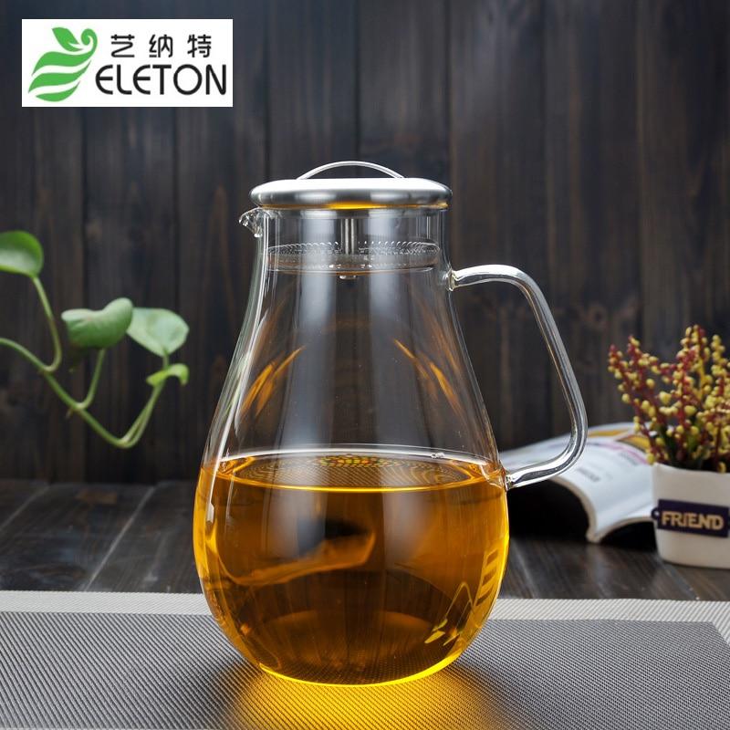 ELETON 2L Varná konvice na čaj z nerezové oceli s filtrem na velké nádoby na vodu
