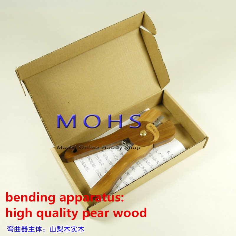 solid wood mask bending machine hull production tools wood bending appartus  scissors type for wood scale model ancient sailing
