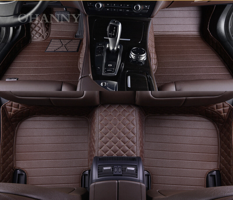 Hot Sell Front And Rear Car Floor Mat Carpets Custom Fit Case For Cadillac Escalade Esv 2009