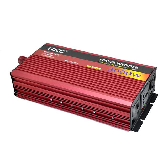 3000 W de Potência Do Inversor DC 24 V Para AC 220 V 50 HZ AC Power Inverter aceitar Carro proteção integral inversor 3000 W CY554-CN