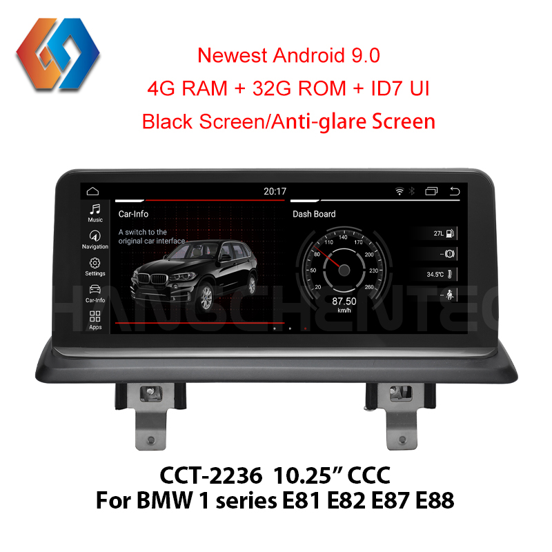 Voiture GPS multimédia pour BMW E87 2006-2012 CCC système Android écran tactile Radio intégré WiFi BT commande au volant 36
