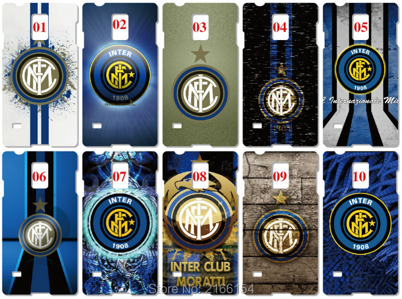 Iinter Milan Logo Painting plastic Hard Cover For Samsung Galaxy S3 S4 S5 Mini S6 S7 Edge Plus Note 2 3 4 5 Mobile Cell Case