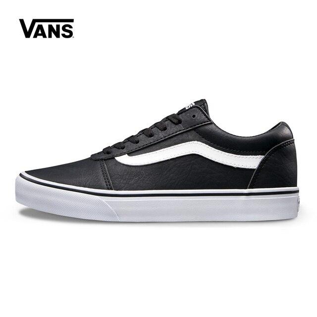 5e4e0b23123c1 Original Vans Vance Black Men's Breathable Sneakers Shoes Outdoor Classic  Brand Shoes VN0A38DMK55