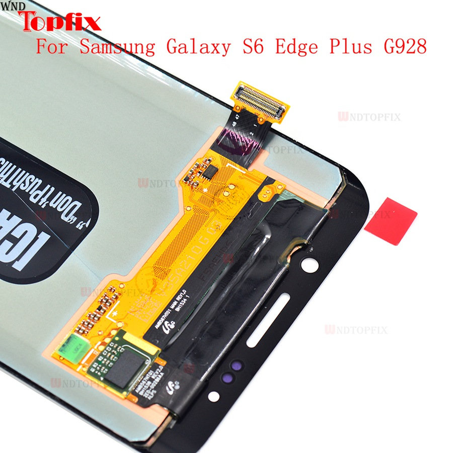 Lcd Display Touch Screen DigitizerAssembly For Samsung Galaxy S6 Edge Plus G928F G928A G928I Super AMOLED LCD Replacement Parts (4)