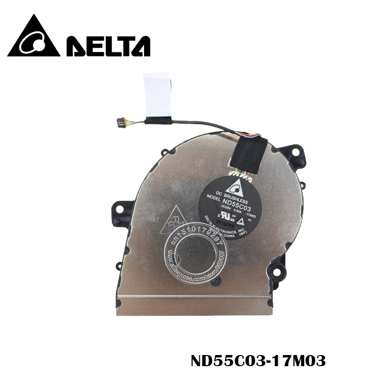 Original Cooling Fan DELTA ND55C03 DC05V 0.50A -17M03Original Cooling Fan DELTA ND55C03 DC05V 0.50A -17M03