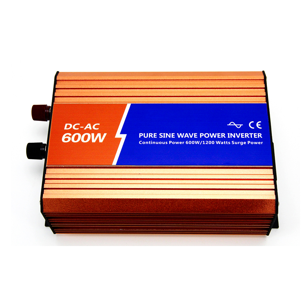 MAYLAR@600W 24VDC 110V/120V/220V/230VAC 50Hz/60Hz Peak Power 1200W Off-grid Pure Sine Wave Solar Power Inverter or Wind Inverter 400w wind generator new brand wind turbine come with wind controller 600w off grid pure sine wave inverter