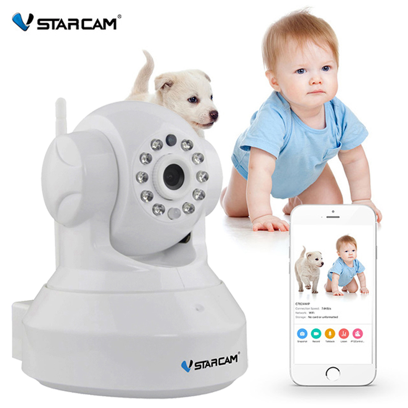 VStarcam HD 720P Wifi IP Camera Use eye4 App CCTV Wifi Camera Support 128GB Card Wireless