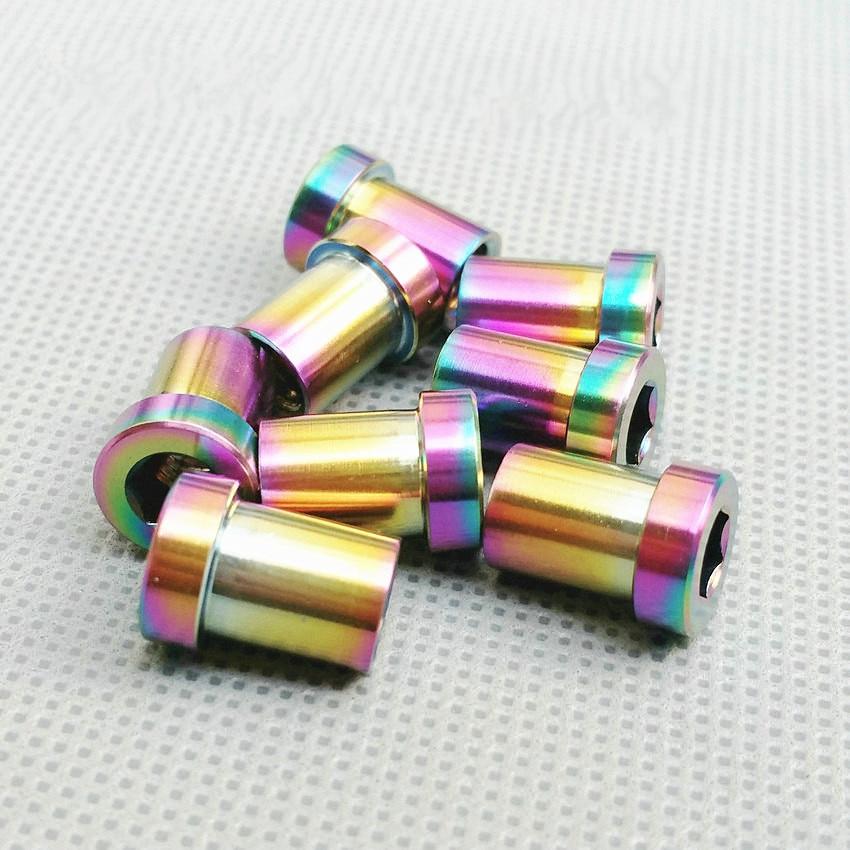 2/3/12pcs Ti Bolt M6 13-33mm Road Bike Clip Nut Ti C Shift Nut DIY Hexagon Socket Female Thread Connection Ti Screw Ti Fastener sn74ls04 sop14 ti