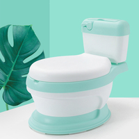 New Style Simulation Baby Toilet Training Small Size Potty For Kids Indoor WC Baby Potty Chair Plastic Children's Potty Chair