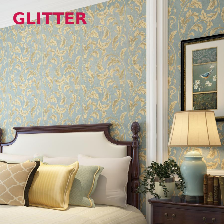 Modern 3d Embossed Flower Wallpaper Pvc Wallpapers For