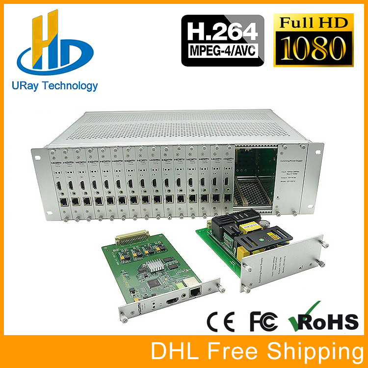 3U Rack 16 Channel H264 H.264 1080P HDMI Encoder 16 In 1 HDMI To IP Streaming Video Encoder IPTV RTMP UDP HLS RTSP ONVIF uray 4g lte 1080p wireless hdmi to ip video encoder h 264 hdmi streaming encoder h264 hdmi rtmp udp encoder wifi for live iptv