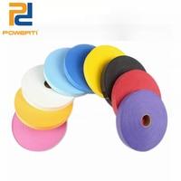 Powerti 2.5cm Stick Sweatband Overgrip Tennis Racket Tape Badminton Racket Grip 0.75mm Adhesive Squash Racket Grips 45M