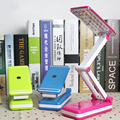 reading KM6686 rechargeable LED lamp eye students work folding mini dorm bed reading book light