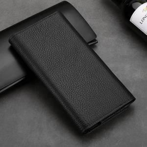 Image 3 - Pochette en cuir véritable pour Samsung Galaxy S20 Plus sac étui universel sac à main pour Samsung S20 S10 Plus étui portefeuille poche