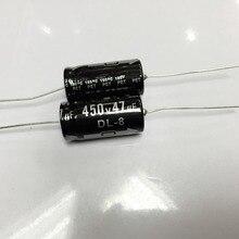 شحن مجاني 450 فولت 47 فائق التوهج محوري مُكثَّف كهربائيًا 47 فائق التوهج 450 فولت 16x30 مللي متر (10 قطعة)