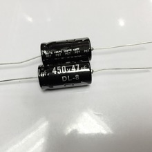 """משלוח חינם 450 v 47 uf צירי אלקטרוליטי קבלים 47 uf 450 v 16x30 מ""""מ (10 יחידות)"""