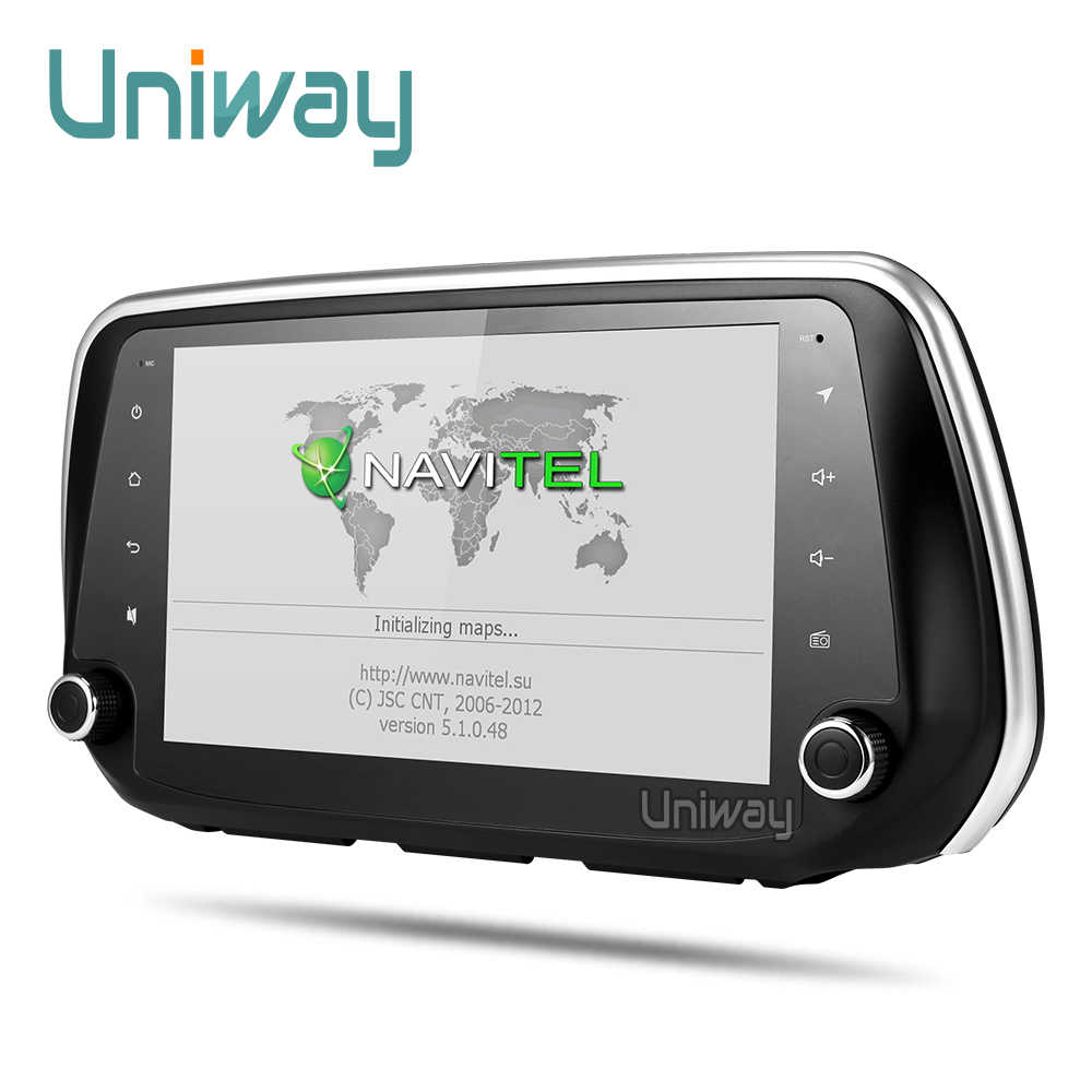 Uniway 2G + 32G android 8.1 auto dvd voor Hyundai Santa Fe multimedia autoradio gps navigatie video speler