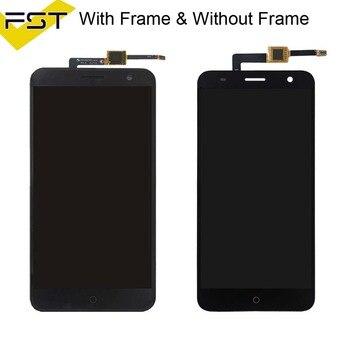 Per Zte Lama V7 Schermo LCD Touch Digitizer Per Zte V7 Schermo LCD Per Zte Lama V7 Display LCD Di Montaggio Con Telaio