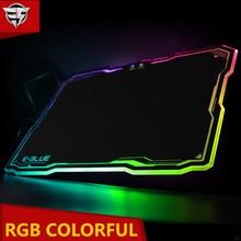 E-3LUE EMP013 Gaming Mouse Pad Gamer Rubber Pad Mousepad Game Keyboardpad RGB Light Lighting