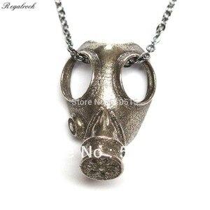 Image 1 - Regalrock Steampunk Anti Oddities Apocalypse Jewelry Gas Mask Pendant Necklace