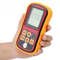 GM100 ultrasonic thickness gauge metal plastic ceramic glass measuring thickness instrument