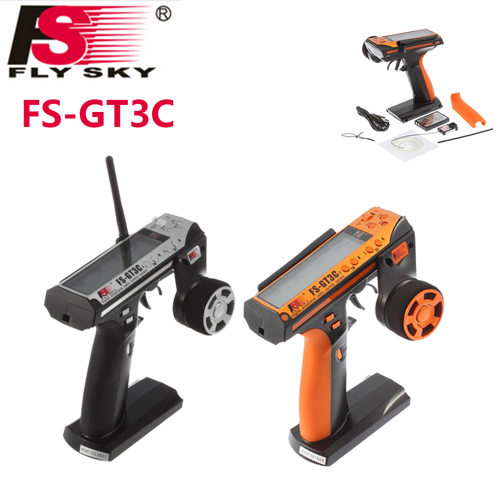 Flysky FS-GT3C FS GT3C 2.4G 3CH RC CAR System /w battery GR3E Receiver Radio Controller Dropship 6v 1600mah vb power receiver battery for rc car model plane wholesale price dropship freeshipping