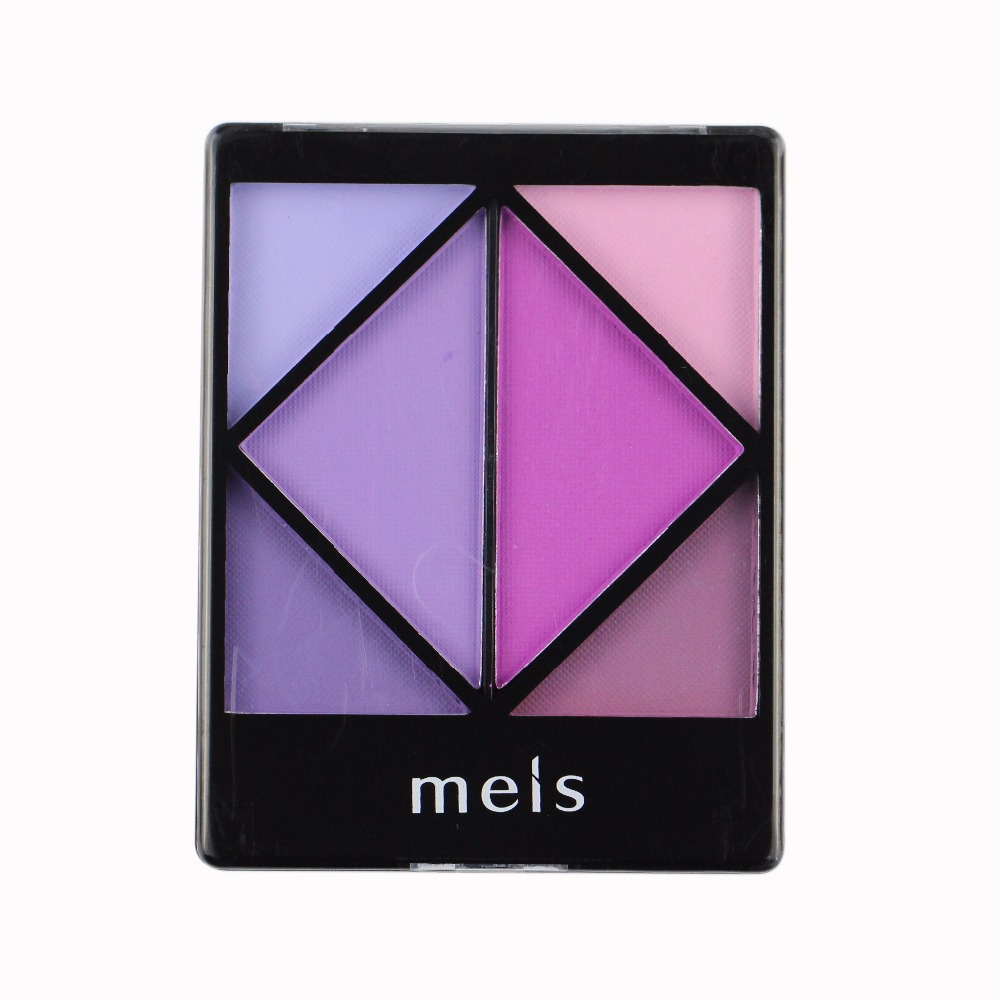 MEIS Merek Matte Eye shadow Palette 6 Warna Eye Shadow Profesional Makeup Eye shadow Kualitas Sempurna Matte Eye shadow MS 0605