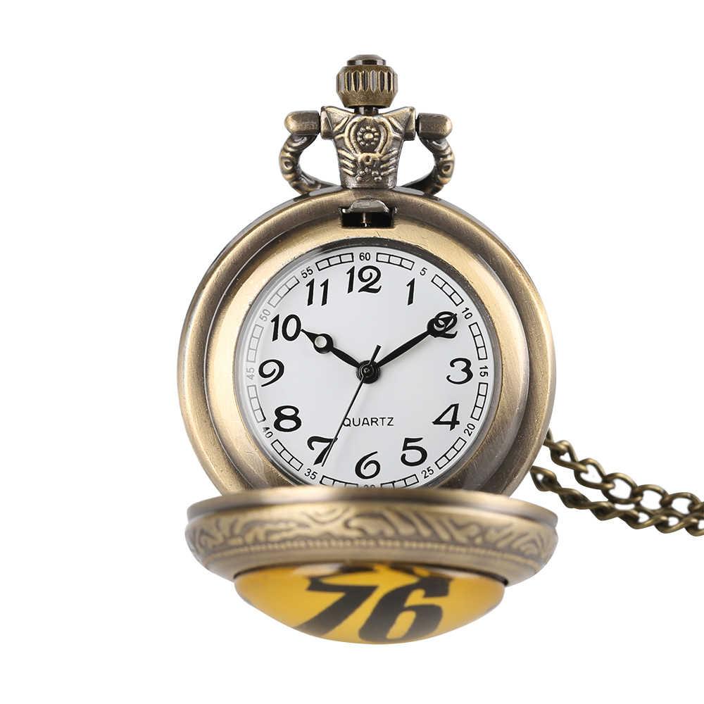 Стимпанк Fallout 76 сувенир кулон подарок часы кварцевые Бронзовый Цепочки и ожерелья часы Специальный подарок для поклонников с мешком подарков/коробка