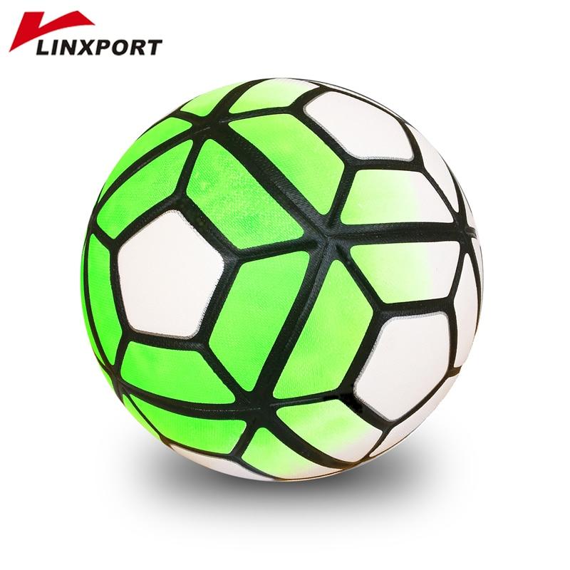 42f1c73f4 2018 Jogo Bola De Futebol de Formação Profissional de Futebol Tamanho  Oficial 5 Bolas Ao Ar Livre Gol League Bola PU bola de futbol voetbal