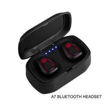 Wireless True Waterproof Sport Headset Phone Handsfree Earphone Touch Tws Bluetooth Earbuds Noise Canceling Wirelles Earphones